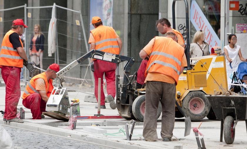 Remontują Katowice tylko w centrum