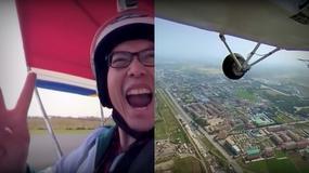 Obcokrajowiec nakręcił wyjątkowy film 360° z lotu nad stolicą Korei Północnej