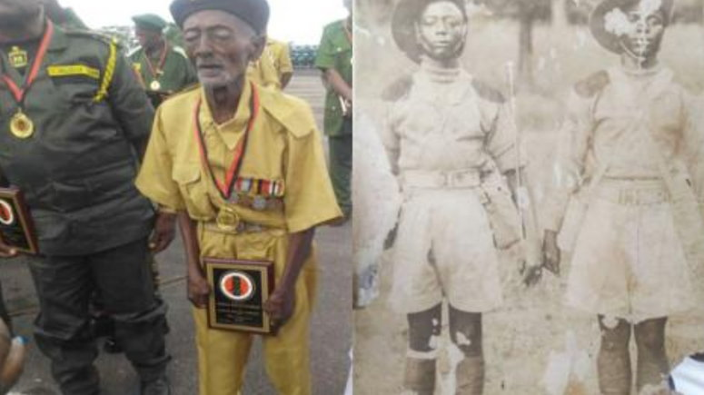 Image result for Nigeria's Oldest Soldier, World War Veteran Is Dead