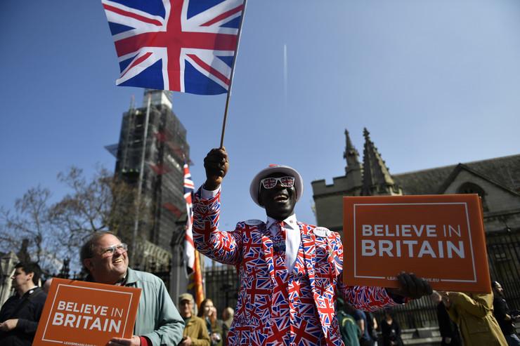 london protest bregzit