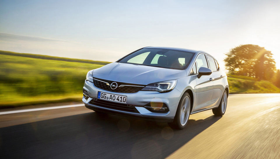 Opel Astra: facelifting 2019