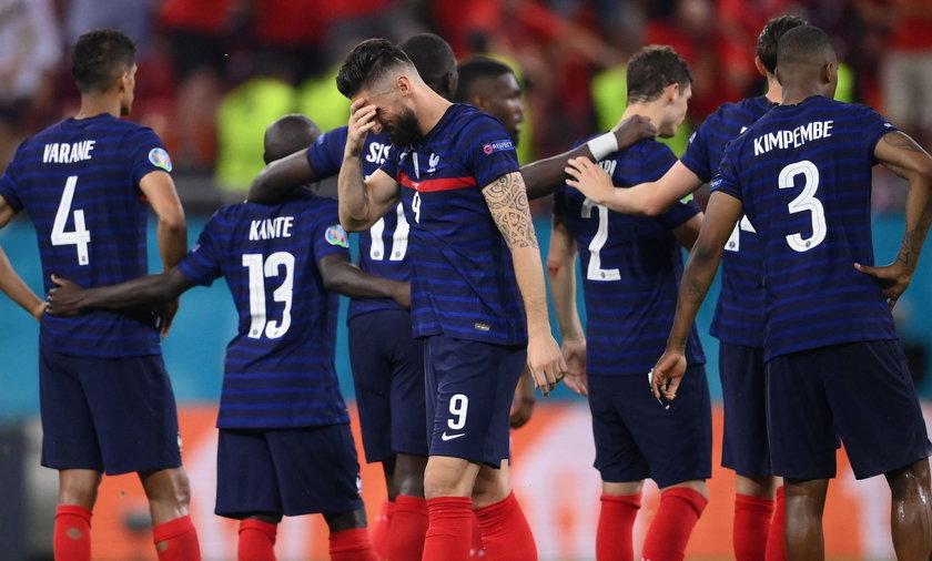 Francuzi odpadli z Euro 2020 po przegranej serii rzutów karnych ze Szwajcarią