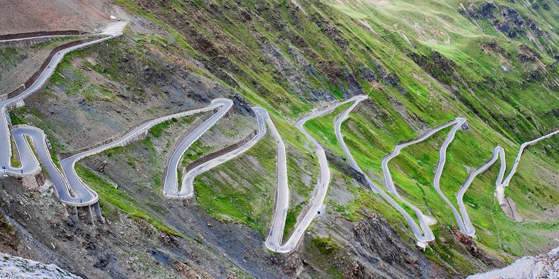 10 ekstremalnych tras drogowych na świecie