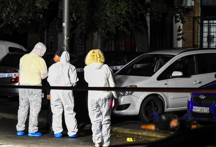 BLUR Novi Sad278 ubistvo Zeljka Bulatovica uvidjaj policije foto Nenad Mihajlovic