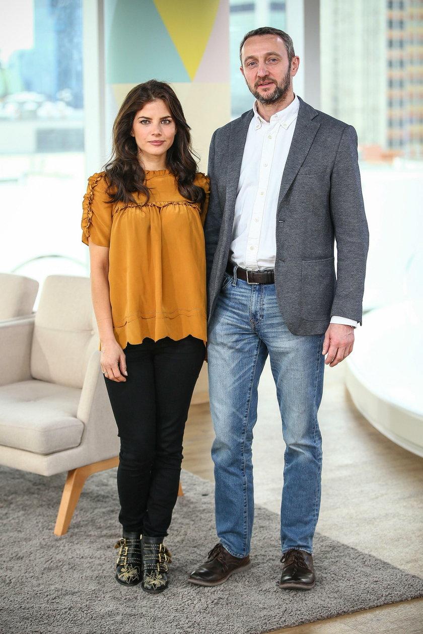 Robert Śmigielski i Weronika Rosati