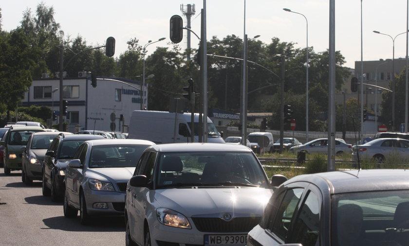 Gehenna kierowców na Słowackiego