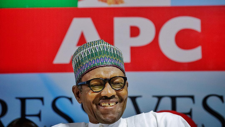 President Muhammadu Buhari can secure more votes in the Presidential election against PDP's Atiku Abubakar. [Bayo Omoboriowo]