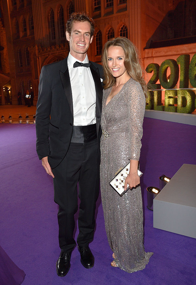 Andy Murray i Kim Sears
