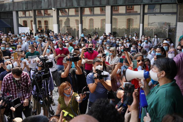 Studenti, protesti, rektorka