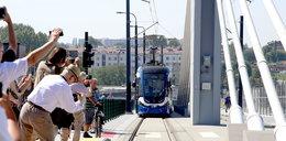 Najdłuższy tramwaj w Polsce wyjechał na trasę
