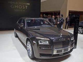 The New Rolls-Royce Ghost Serie II