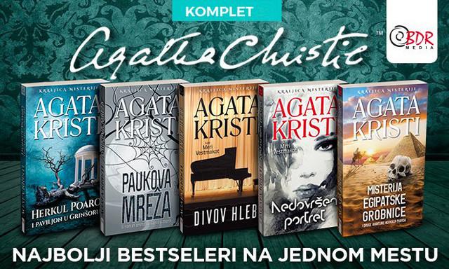 Komplet knjiga Agate Kristi