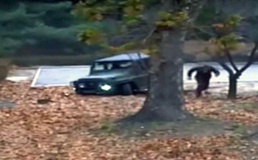 Ucieczka północnokoreańskiego żołnierza