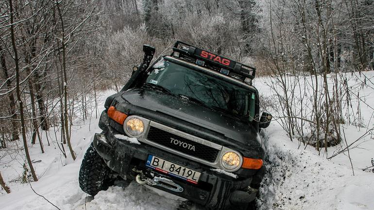 Zimowa wyprawa w teren – Ukraina