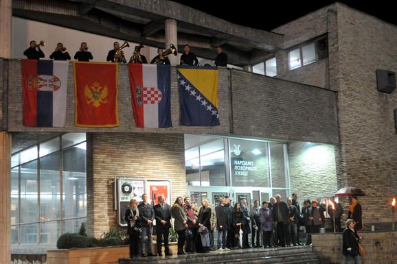 Trube najavile početak Festivala nad zastavama četiri države