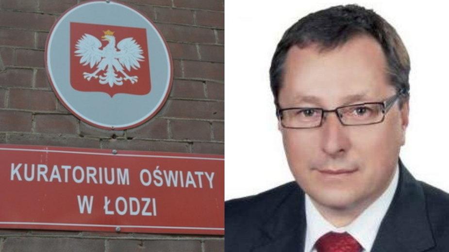 Nowy kurator oświaty w Łodzi Waldemar Flejszar