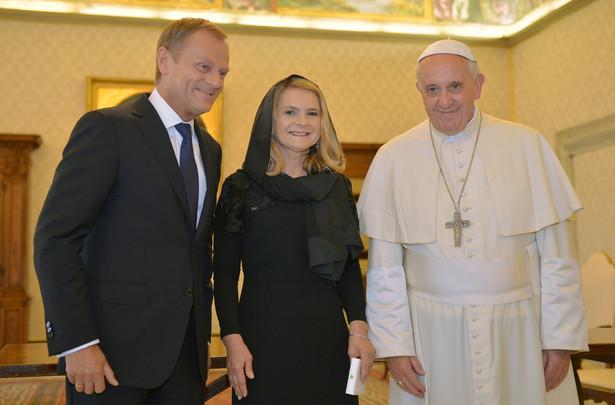 Donald Tusk z wizytą u papieża Franciszka. Fot. PAP/Radek Pietruszka