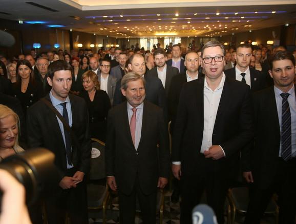 Jonaes Han i Aleksandar Vučić