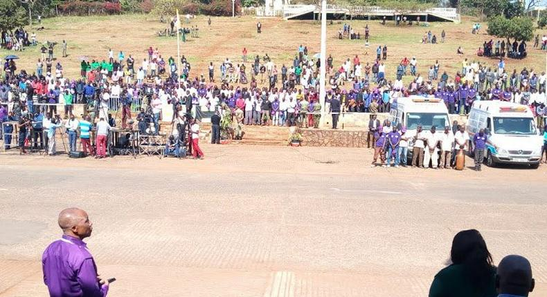 Low turnout at Uhuru Park