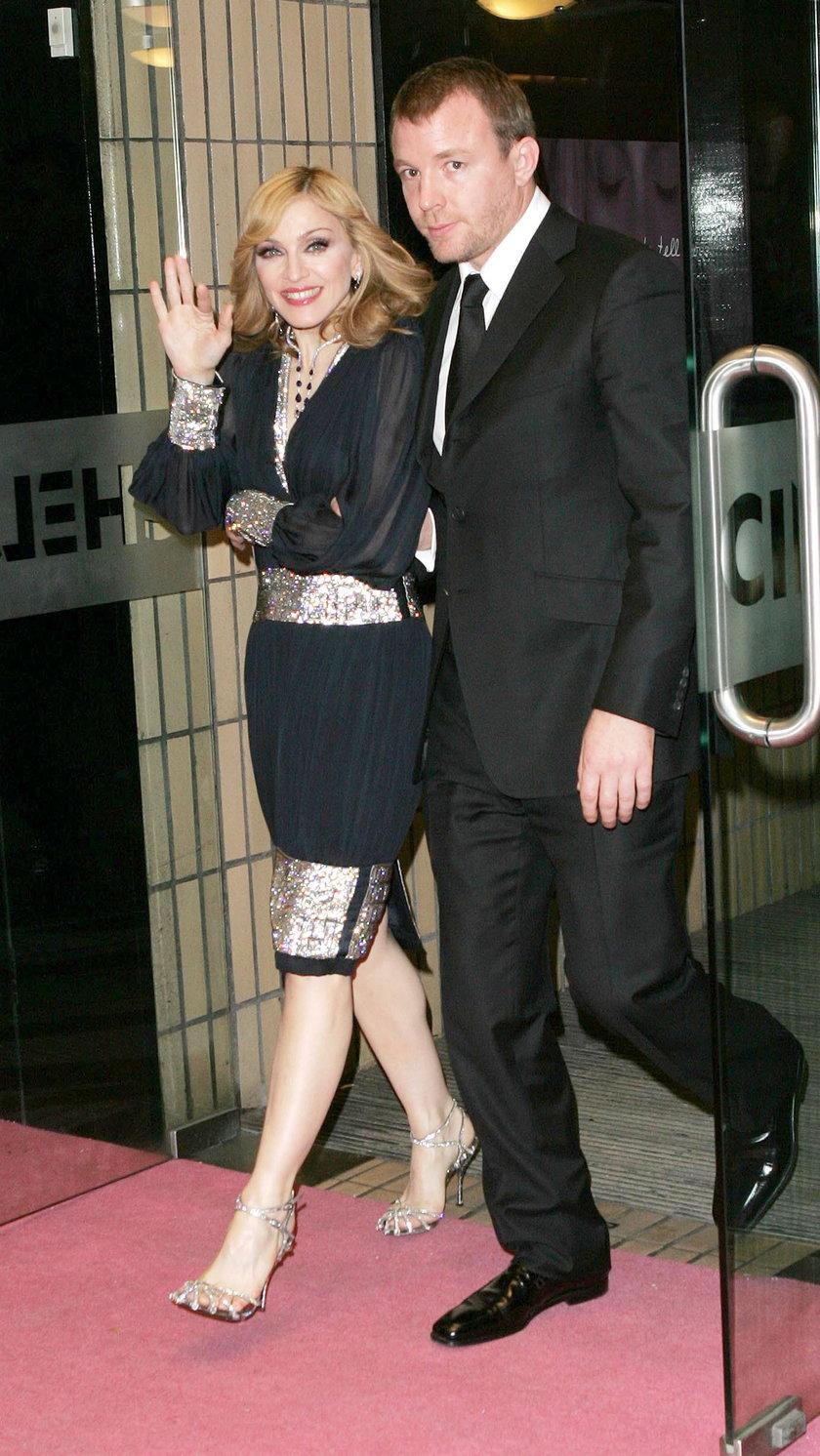 Madonna i Guy Ritchie
