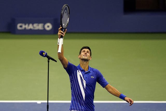 Novak Đoković slavi prolazak u drugo kolo US Opena