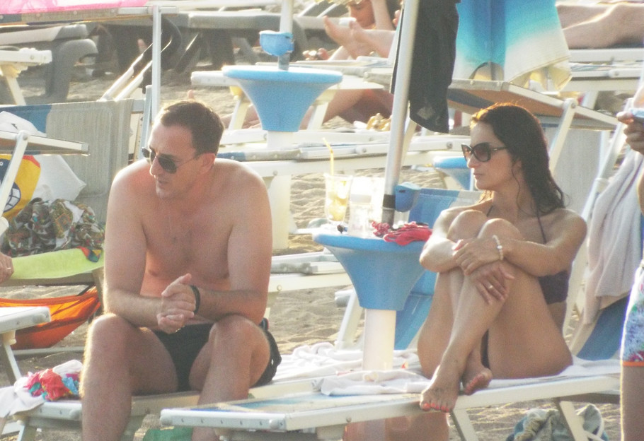 Sergej Ćetković sa suprugom