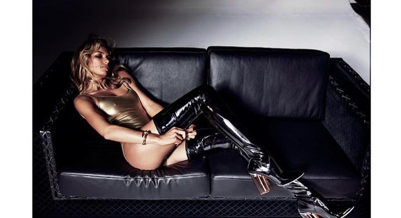 Jessica Hart for Harper's Bazaar Australia October 2015 'Body Issue'