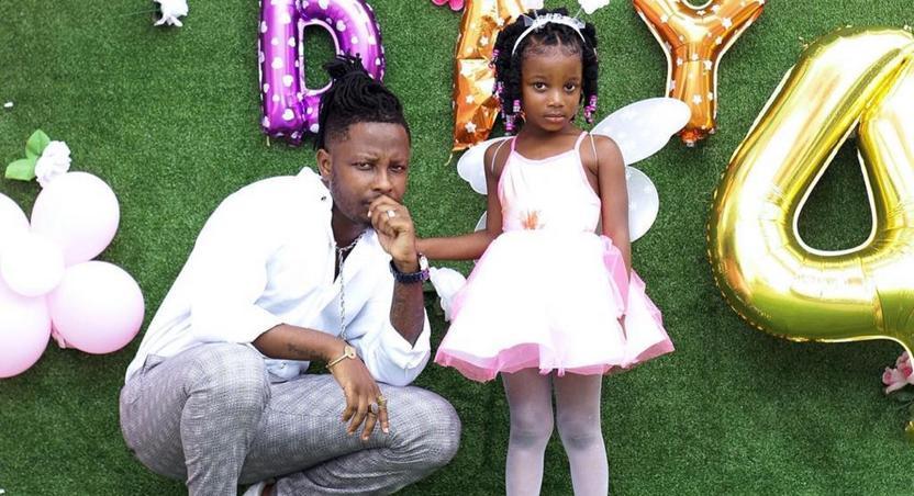 Kelvyn Boy and daughter