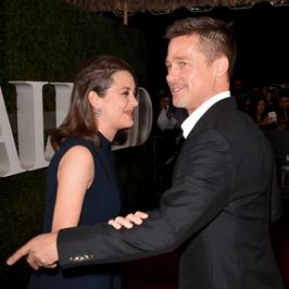 """Marion Cotillard i Brad Pitt na oficjalnej premierze """"Sprzymierzonych"""""""