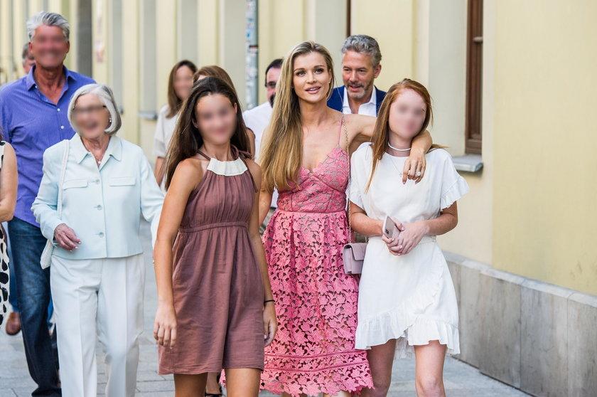 Spotkanie rodzinne przed ślubem Joanny Krupy