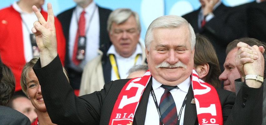 Lech Wałęsa trzyma kciuki za Polskę!