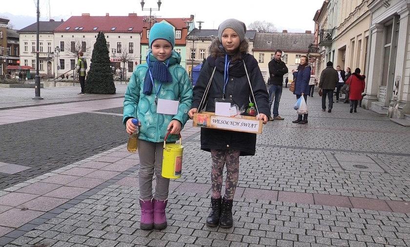 Dziewczynki z zapałkami na ulicach Czarnkowa