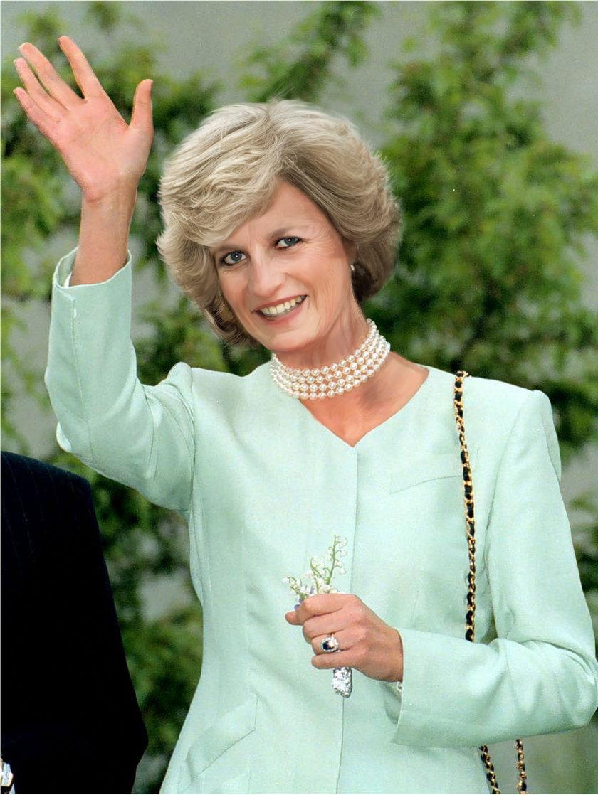Tak wyglądałaby dziś księżna Diana