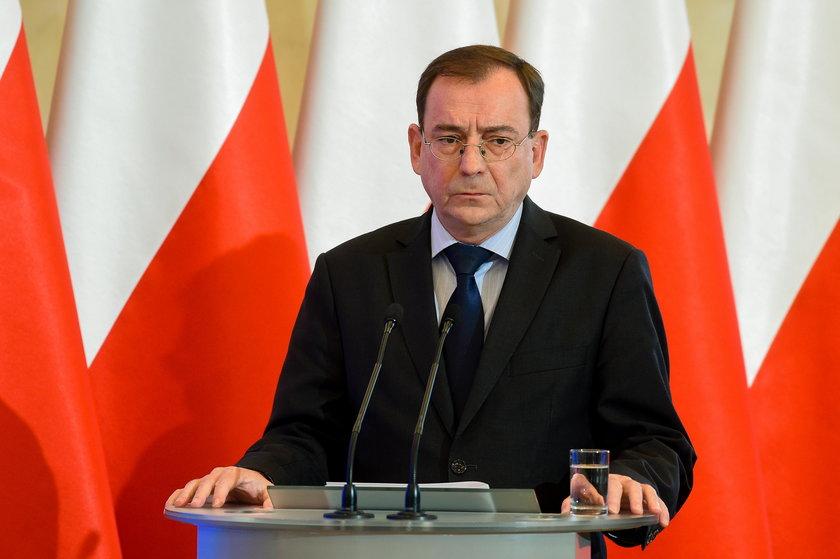 Mariusz Kamiński, minister koordynator służb specjalnych w gabinecie Beaty Szydło