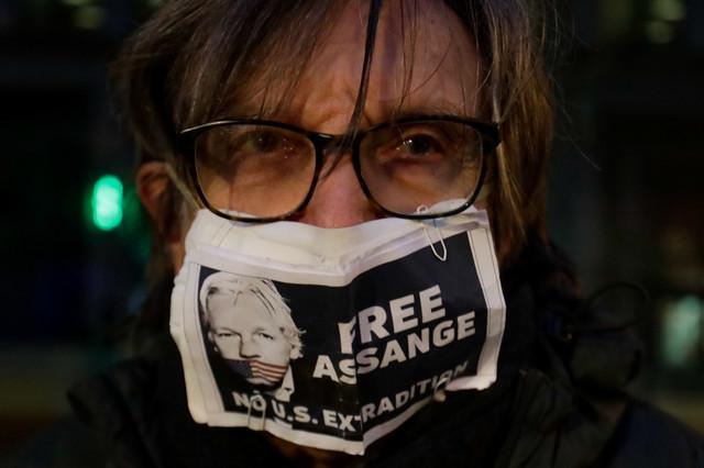 Demonstranti traže oslobađanje Asanža