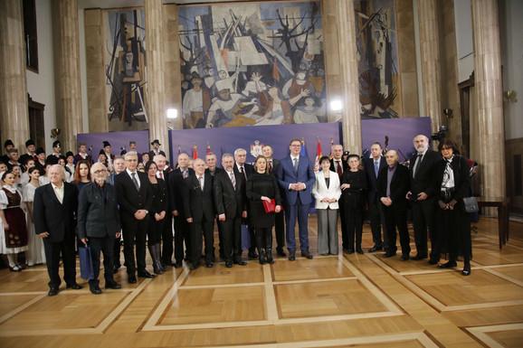 Predsednik sa laureatima