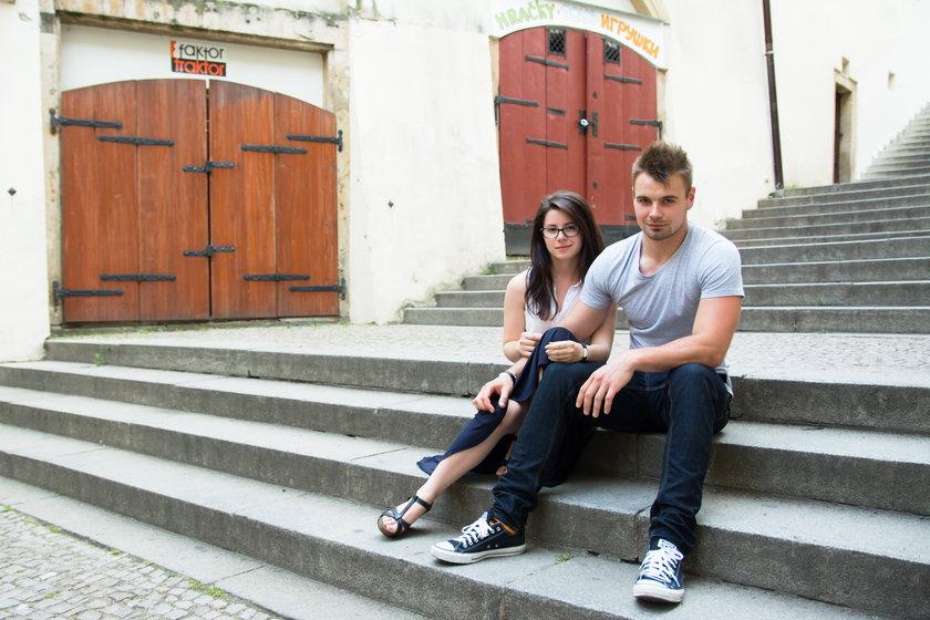 Kasia i Bruno w Pradze