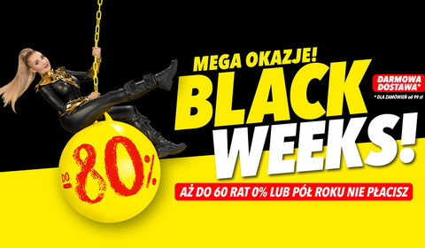 Media Expert z promocjami do -80% z okazji Black Week