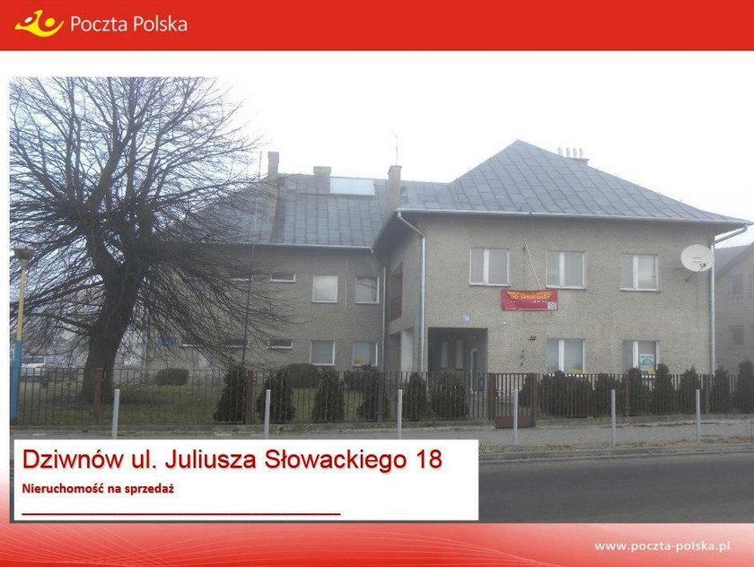 Budynek Poczty Polskiej w Dzwinowie