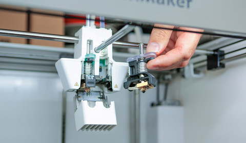 Test drukarek 3D - Ultimaker 3 oraz Ultimaker S5