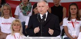 Kaczyński przestrzega, cytując Ewangelię