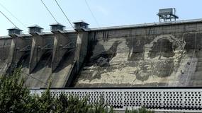 Na zaporze wodnej w Solinie powstaje ekologiczny mural bez użycia farby