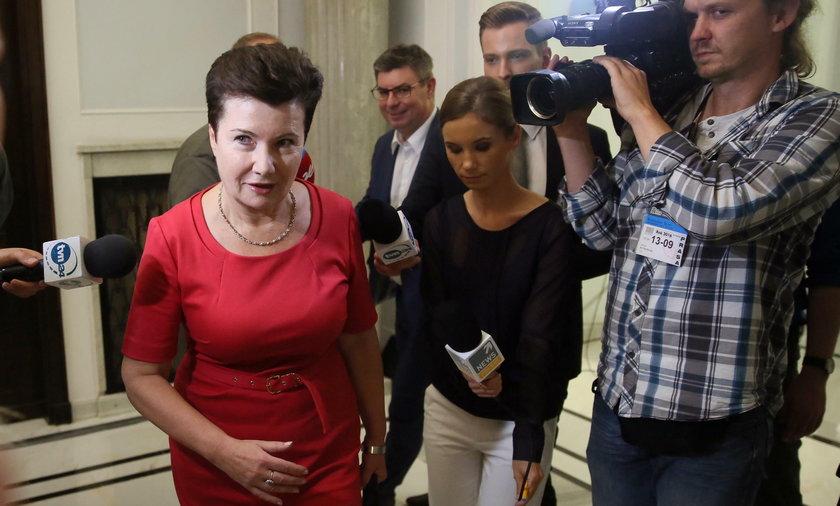 Hanna Gronkiewicz-Waltz nie przybyła na posiedzenie komisji