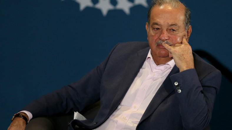 Carlos Slim is worth at least $55 billion, making him the richest person in Mexico.