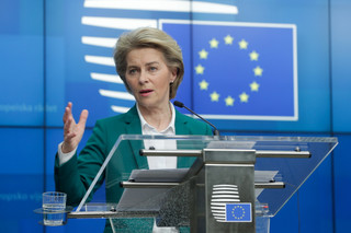 Von der Leyen nie wyklucza wprowadzenia koronoobligacji strefy euro