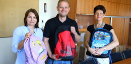 Kupiliśmy plecaki dla potrzebujących dzieci z Rytla