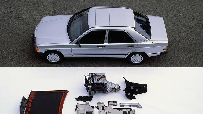 Mercedes w 2014 roku wprowadzi nową generacją klasy C. To dobra okazja, by przypomnieć jego przodka - model 190 (typoszereg W201) zaprezentowany pod koniec 1982 roku...