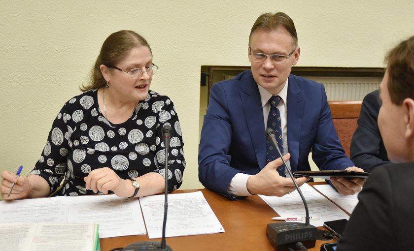 Krystyna Pawłowicz i Arkadiusz Mularczyk