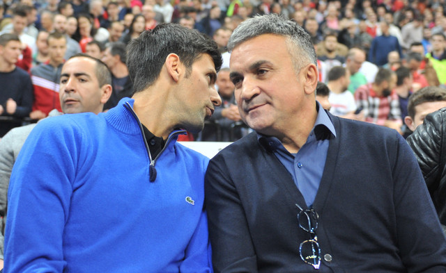 Novak i Srđan Đoković