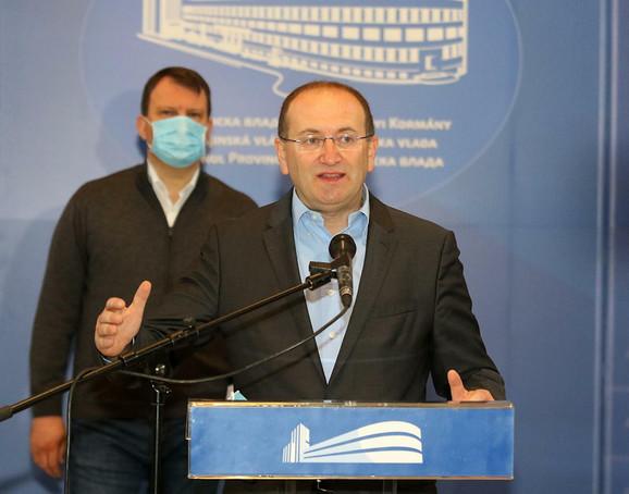 Pokrajinski sekretar za zdravstvo prof. dr Zoran Gojković